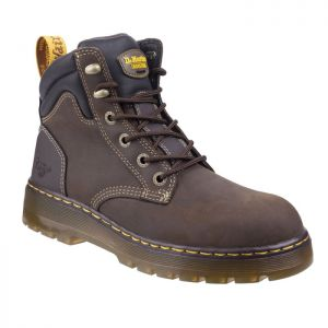 Dr Martens Unisex Brace Safety Boots – Brown