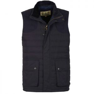 Barbour Bradford Baffle Quilted Gilet - Navy