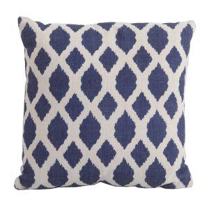 Bramblecrest Square Scatter Cushion - Blue Trellis