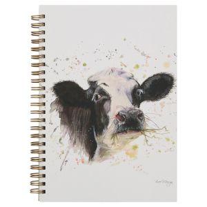 Bree Merryn A5 Spiral Notebook – Clover the Cow