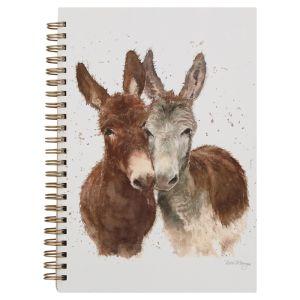 Bree Merryn A5 Spiral Notebook – Jack & Diane the Donkeys