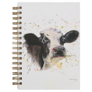 Bree Merryn A6 Spiral Notebook – Clover the Cow