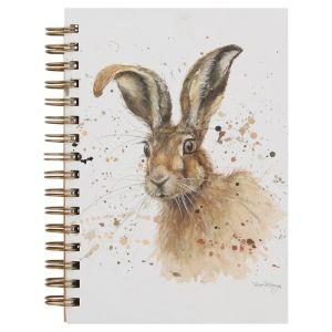 Bree Merryn A5 Spiral Notebook – Hugh the Hare