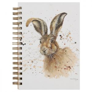 Bree Merryn A6 Spiral Notebook – Hugh the Hare