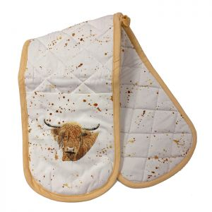 Bree Merryn Double Oven Glove – Bonnie the Highland Cow