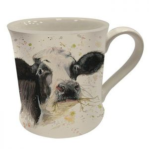 Bree Merryn Fine China Mug, 250ml – Clover the Cow