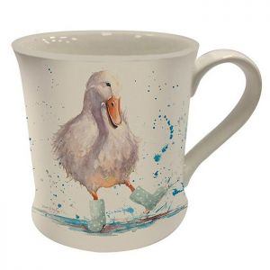 Bree Merryn Fine China Mug, 250ml – Deirdre the Duck