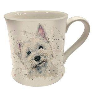 Bree Merryn Fine China Mug, 250ml – Fergal the Westie