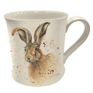 Bree Merryn Fine China Mug, 250ml – Hugh the Hare
