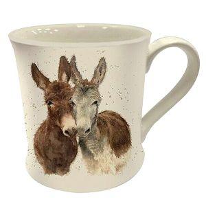 Bree Merryn Fine China Mug, 250ml – Jack & Diane the Donkeys