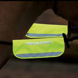 EQUI-FLECTOR Bridle Bands - Yellow