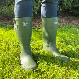 Briers Rubber Wellington Boot - Green