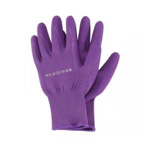 Briers Comfi-Grips Gardening Gloves, Purple - Medium