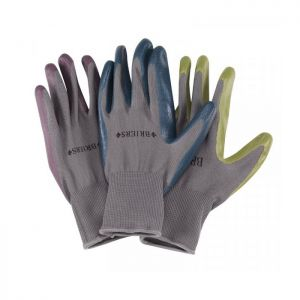 Briers Seed & Weed Garden Gloves, Aubergine - Small