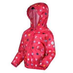 Regatta Children's Peppa Pig Muddy Puddle Jacket – Bright Blush Polka