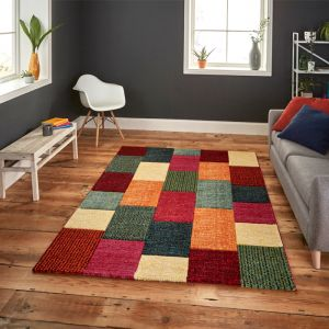 Brooklyn 21830 Rug, Multicoloured - 120cm x 170cm