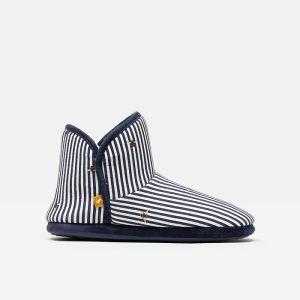 Joules Women's Cabin Slippers – Bee Stripes