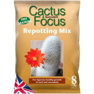 Growth Technology Cactus Focus Peat Free Repotting Mix - 8L
