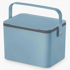 EKO Food Waste Caddy, 4L – Titanium Blue