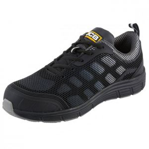 JCB Cagelow Safety Trainer – Black/Grey