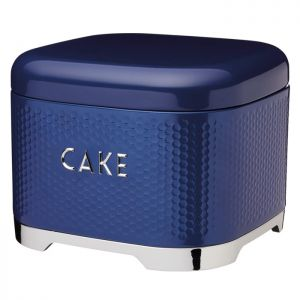 KitchenCraft Lovello Textured Cake Tin – Midnight Navy