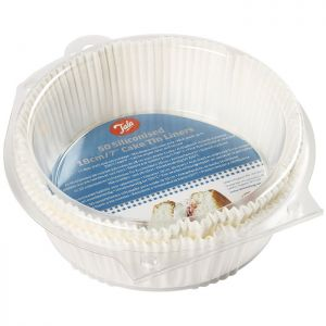 Tala Greaseproof Cake Tin Liners, 7in – 50 Pack