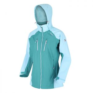 Regatta Women's Calderdale III Waterproof Jacket – Cool Aqua