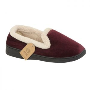 Jo & Joe Women's Cashmere Slippers - Burgundy
