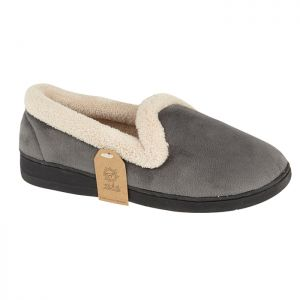 Jo & Joe Women's Cashmere Slippers - Grey