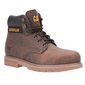 CAT Powerplant Safety Boots - Brown