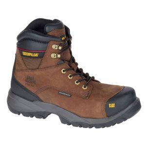 CAT Men's Spiro Safety Boots - Brown