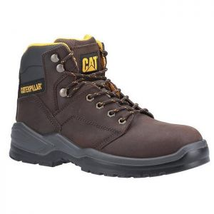 CAT Striver Safety Boots - Brown
