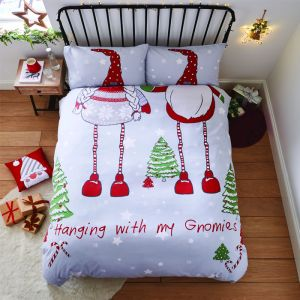 Catherine Lansfield 'Hanging With My Gnomies' Duvet Set