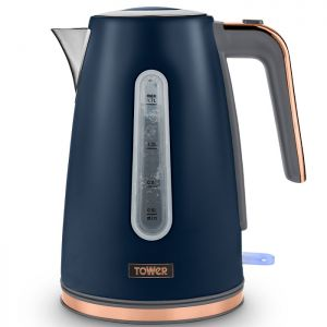 Tower Cavaletto 1.7L Jug Kettle - Midnight Blue/Rose Gold