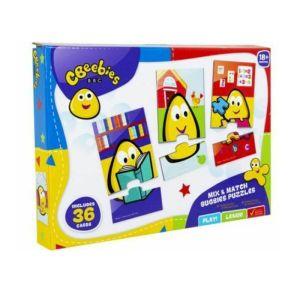 CBeebies Mix & Match Bugbies Puzzles - 36 Cards