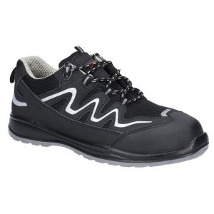Centek Unisex FS313 Safety Trainers – Black & Grey