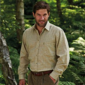 Champion Men's Cartmel Long Sleeved Shirt – Stone