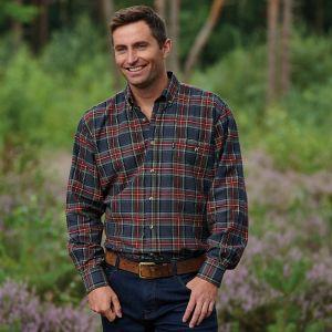 Champion Men's Cranbrook Long Sleeved Shirt – Grey