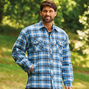 Champion Men's Pennine Padded Shirt – Blue