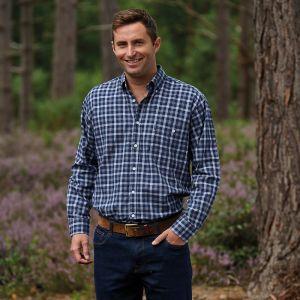Champion Men's Southwold Long Sleeved Shirt – Navy