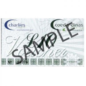 Charlies Stores Ltd Gift Voucher - 10 Pounds