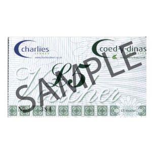 Charlies Stores Ltd Gift Voucher - 5 Pounds