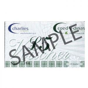 Charlies Stores Ltd Gift Voucher - 5 Pounds