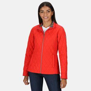 Regatta Women's Charna Diamond Quilted Jacket – True Red