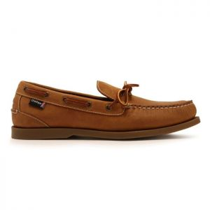 Chatham Saunton G2 Boat Shoes - Walnut