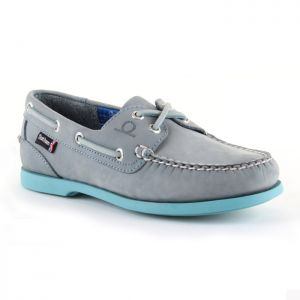 Chatham Women's Pippa II G2 Deck Shoes – Sky Blue/Turquoise