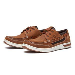 Chatham Men's Buton G2 Boat Shoes – Walnut/Gum