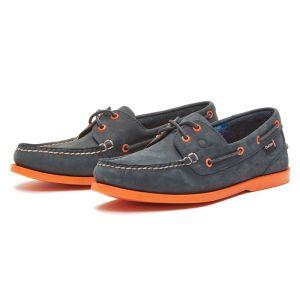 Chatham Men's Compass II G2 Deck Shoes – Navy/Orange