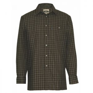 Champion Men's Chatsworth Long Sleeved Shirt - Olive