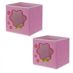 Children's Storage Box - Flower *Buy 2 for £5*